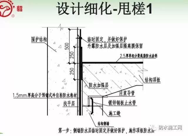 预铺型防水卷材在地下工程的分析_7
