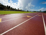 [山西]中学体育场塑胶跑道施工组织方案