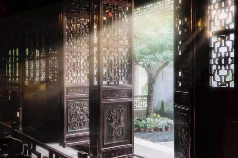 这才是中国人的院子,秋天美到骨子里_11