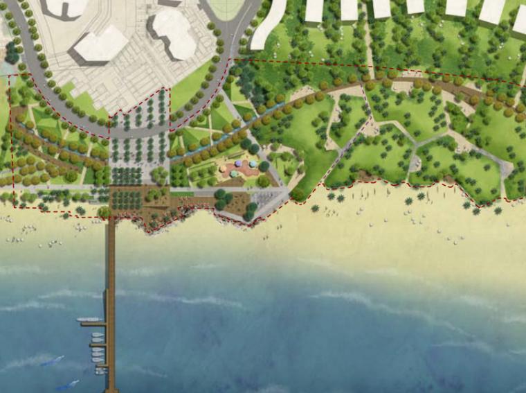 [海南] 神州半岛第一湾示范区景观设计方案(PDF+110页)