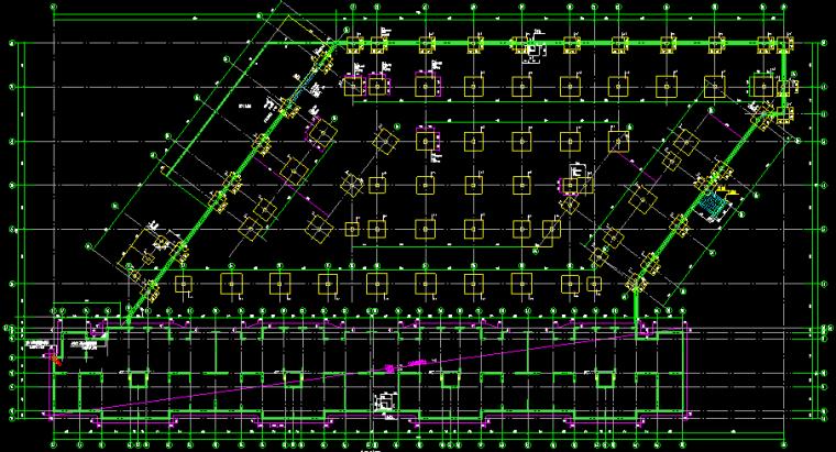 短肢剪力墙小高层住宅结构图