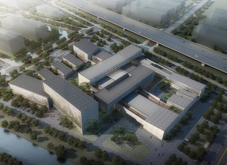 [上海]某现代风格中医院建筑方案文本(JPG+148页)
