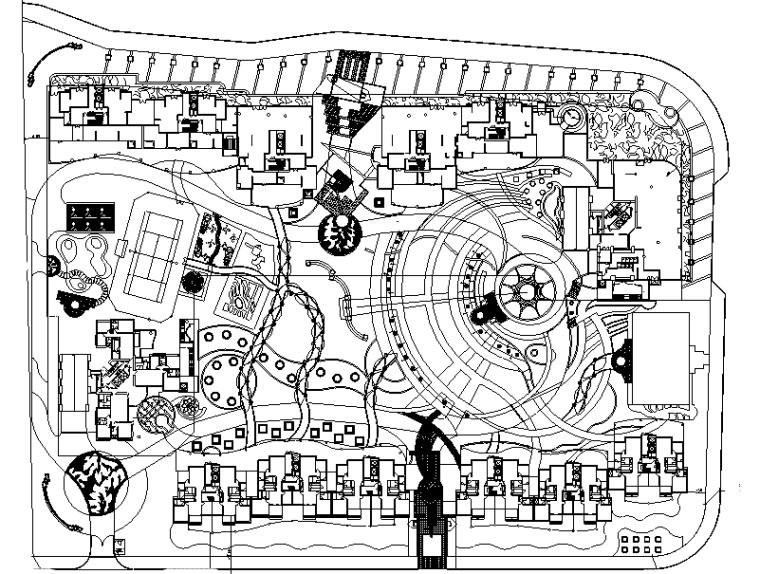 [江西]金碧华府花园限全套施工图设计(包含+166个CAD)