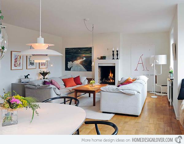 20个时尚的客厅装修设计案例_11