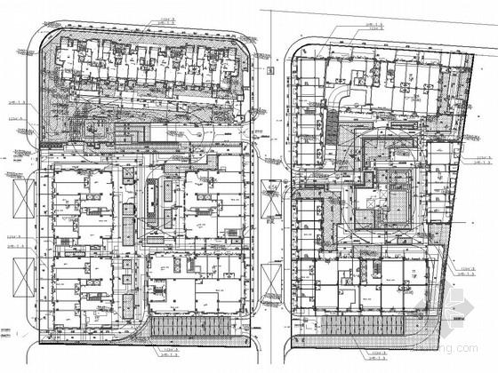 [上海]宜居小区景观规划设计施工图
