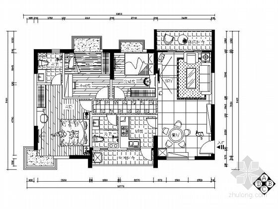[东莞]现代风格两居室室内装修图(含效果)
