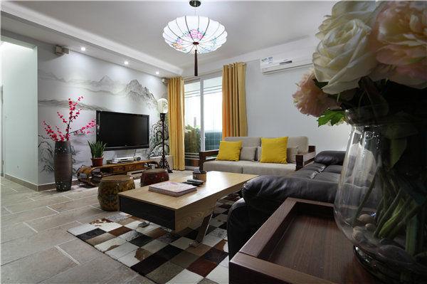中式古典简约家居装修效果图_10