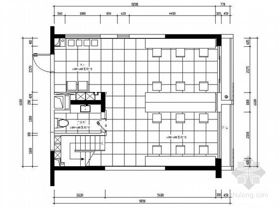[深圳]现代简约办公室装修图(含效果)