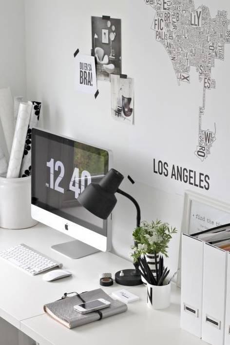 室内设计|N款工作间与书桌,看一眼就为之着迷!_11