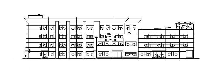 20米高某学校食堂建筑施工图
