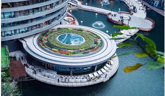 投入20亿的工程奇迹深坑酒店终于开业了,内部设计大曝光!_55