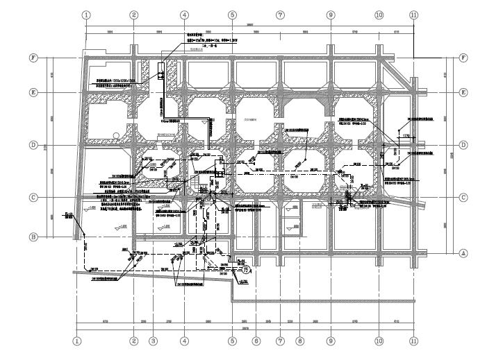 [上海]鲁能酒店附属楼给排水施工图_1