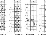 木业公司刨花板门式刚架结构车间施工图(CAD,12张)