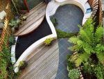 花园庭院的曲折之美
