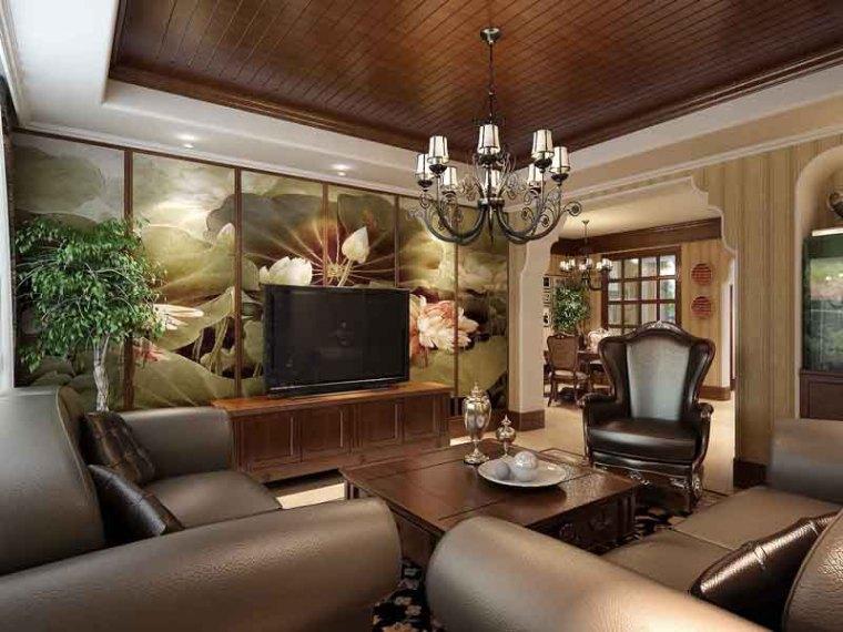 古典客餐厅3D模型下载