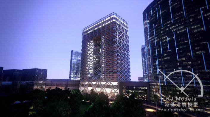 CityofDreams一间设计令人惊叹的酒店-City of Dreams 一间设计令人惊叹的酒店-港基建筑模型-Hotel Ca第1张图片