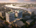 [上海]现代风格滨江国际大厦方案设计
