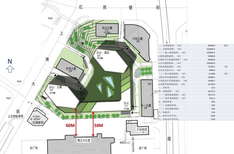 红照壁城市综合体概念方案设计1029