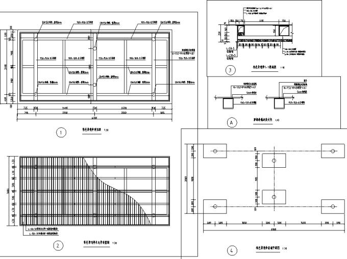 [重庆]生态组团式公租房景观设计全套施工图(园建+绿化+水电)_4