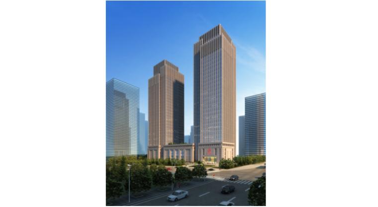 [重庆]新闻传媒中心一期工程框架核心筒结构绿色施工实施规划方案(附方案交底记录)
