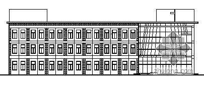 某三层厂房建筑施工图(已竣工)