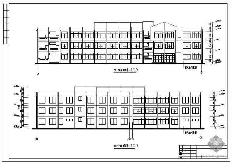 [学士]某三层框架办公楼毕业设计(含计算书、建筑结构设计图)