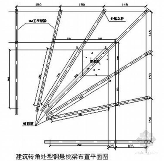 [四川]住宅工程脚手架施工方案(落地、悬挑)