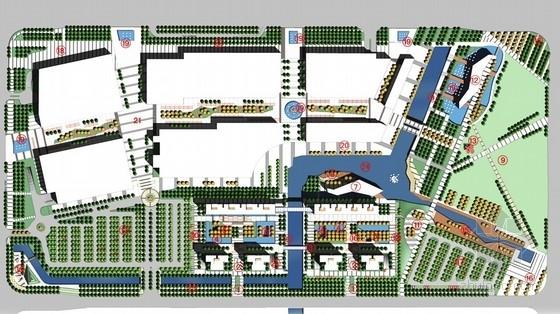 [宁波]商业广场公寓及酒店环境景观设计方案