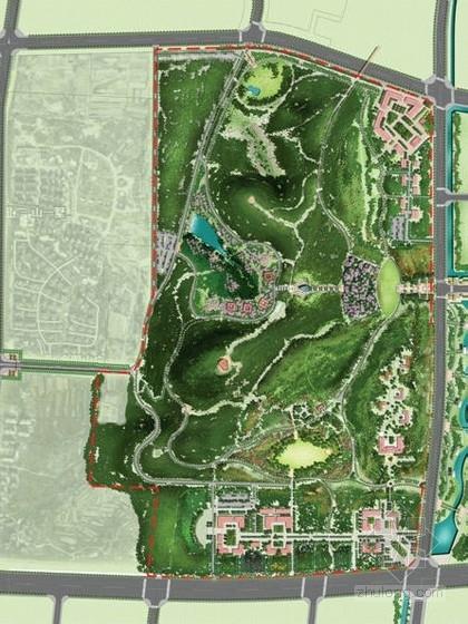 [青岛]历史文化公园景观设计方案