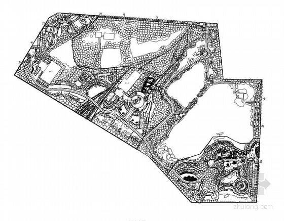 [江西]生态公园园林景观工程施工图