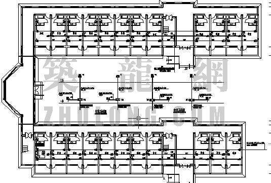 老年人公寓楼资料下载-老年公寓电气设计图
