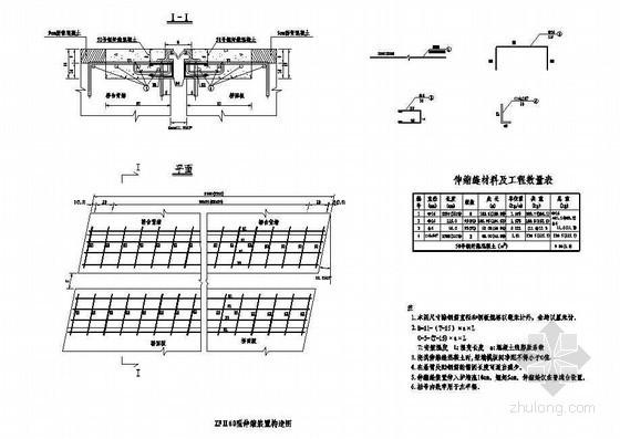 45m现浇预应力混凝土简支箱梁伸缩缝节点详图设计