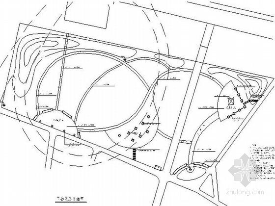 某地绿色小游园景观设计施工图