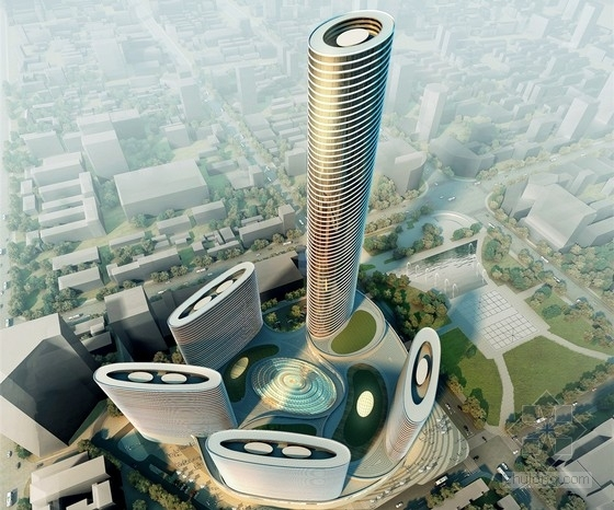 [系列二]大底盘多塔复杂结构大型超高层综合体结构施工图(塔楼部分)