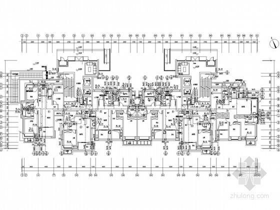 [江苏]33层大型住宅小区全套给排水图纸(TTC同层排水、含5栋住宅楼)