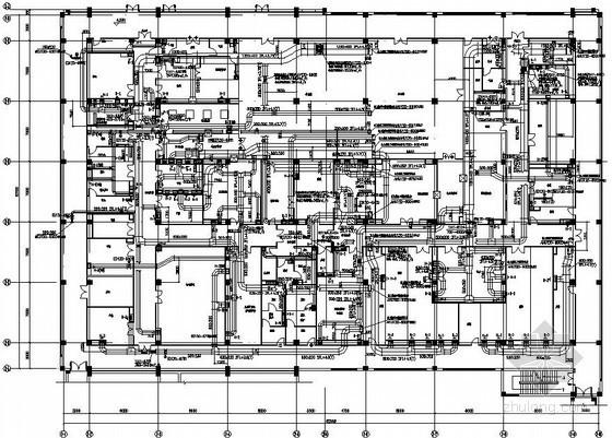 [浙江]车间厂房暖通空调系统施工图(洁净空调)