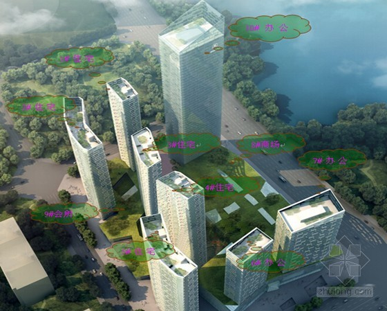 [QC成果]大型多功能城市综合体综合施工技术材料汇报