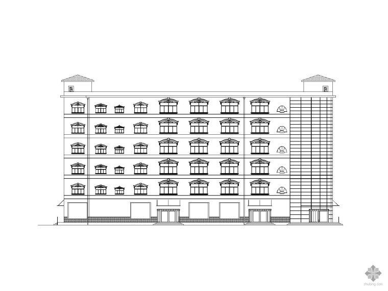 [毕业设计]南昌某六层商务楼建筑结构施工图(含计算书)