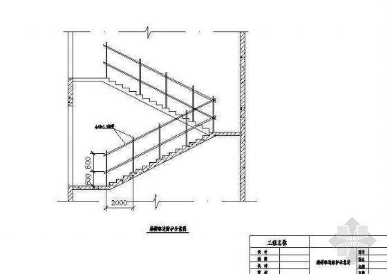 楼梯临边防护示意图