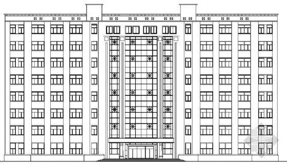 某八层办公楼建筑、结构施工图(毕业设计)