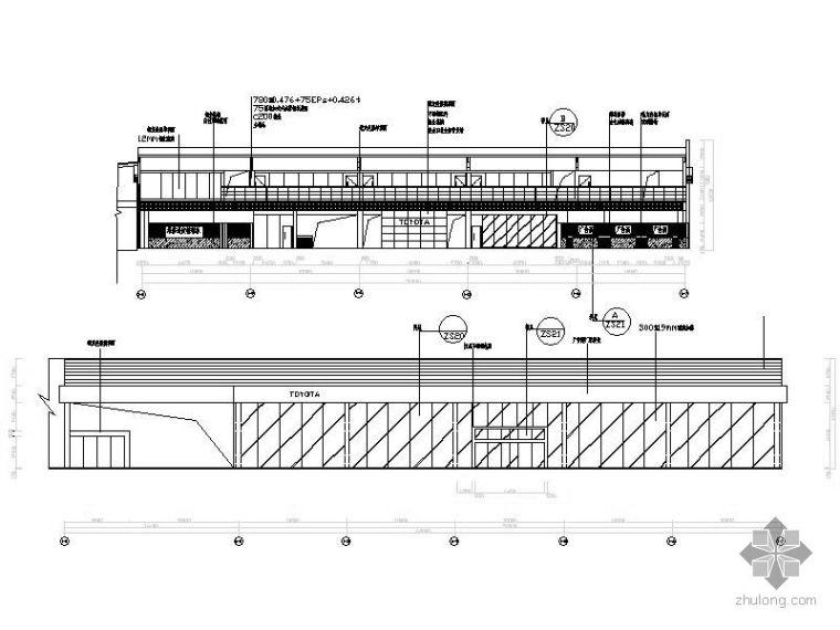 一汽TOYOTA展厅设计图_2