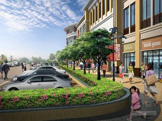 [合肥]商业广场景观扩初设计效果图