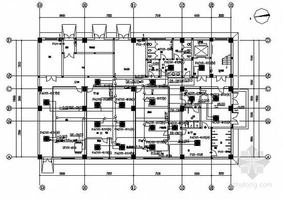 [四川]医药厂房暖通空调设计施工图纸