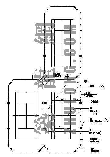 网球场设计施工图纸