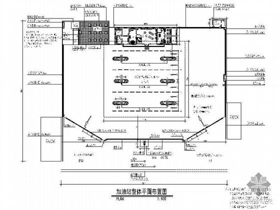 [安徽]中石化加油站改造施工图(装饰+电气)