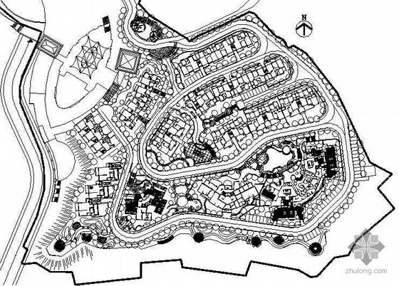 [重庆]小区环境景观施工图设计