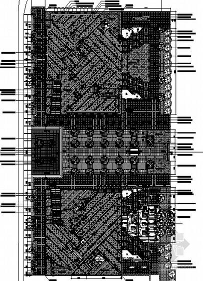 [许昌]屋顶花园景观工程施工图