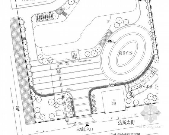[新疆]多层综合办公楼采暖系统设计施工图(含给排水设计 室外管网系统)