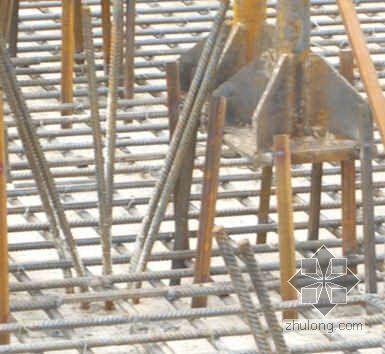 单层钢结构厂房地脚螺栓预埋施工方案