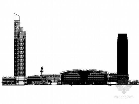 [深圳市]某现代高档城商业综合体建筑方案套图
